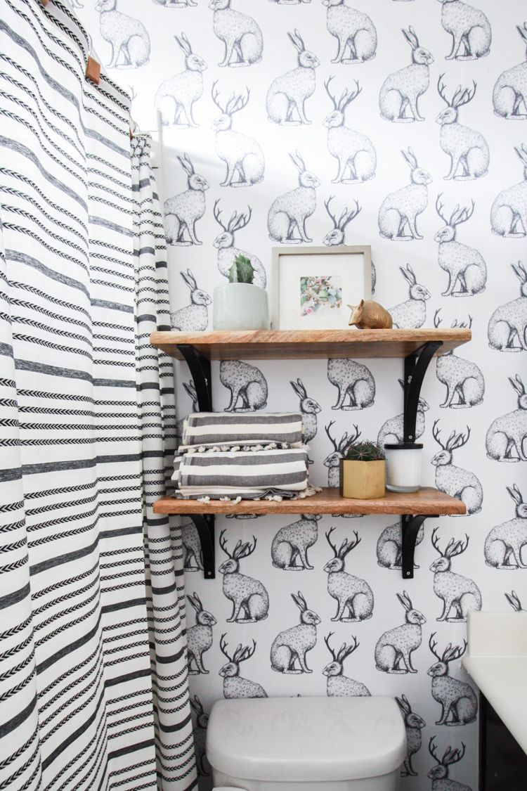Jackalope Wallpaper   How to Smooth Textured Walls
