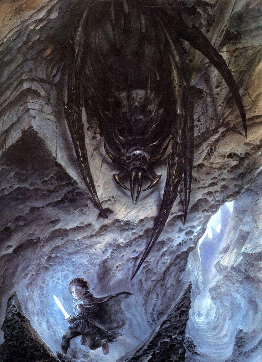 Обои властилин колец, John howe, gandalfs return. Фантастика foto 14