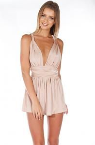63e11557ce New Direction Playsuit - Beige l Babyboo Fashion