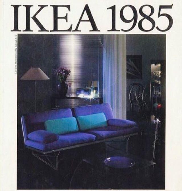 Ikea Catalogue Cover 1985 Ikea 1985 Neontalk 80 39 S