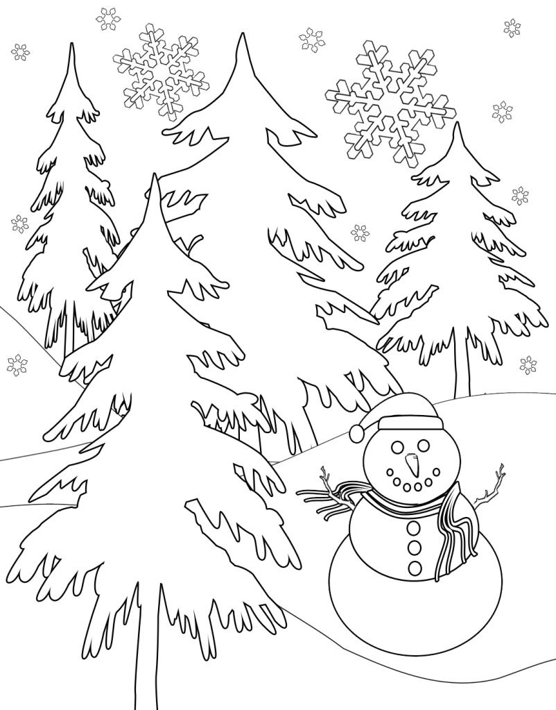 Free Winter Coloring Pages Coloring Pages Winter Snowflake Coloring Pages Coloring Pages
