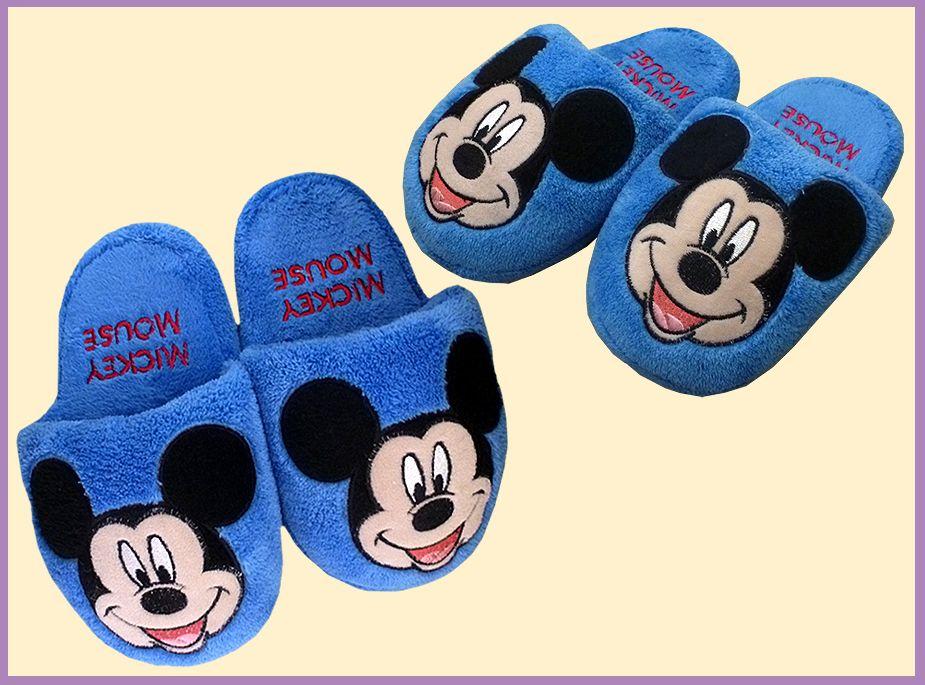 b671427b428fcf Chinelo pantufa do Mickey | sapatinho de feltro | Sapatos de feltro ...