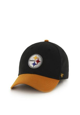 promo code fb11e 3aea5  47 Pittsburgh Steelers Blue Short Stack Youth Adjustable Hat