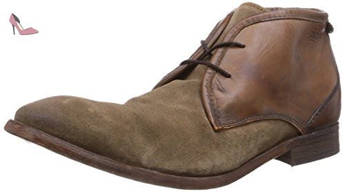Matteo Suede Charcoal, Bottines Chukka Homme, Gris (Charcoal), 41 EUHudson
