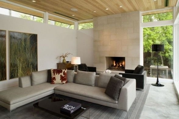 Amazing Dry Creek House Design by Brian Dillard - beautiful living