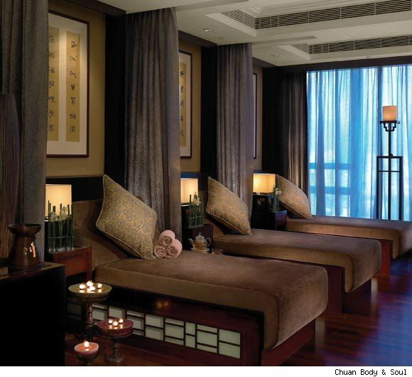 Relaxing Room Ideas: Spa Relaxation Room, Hong Kong