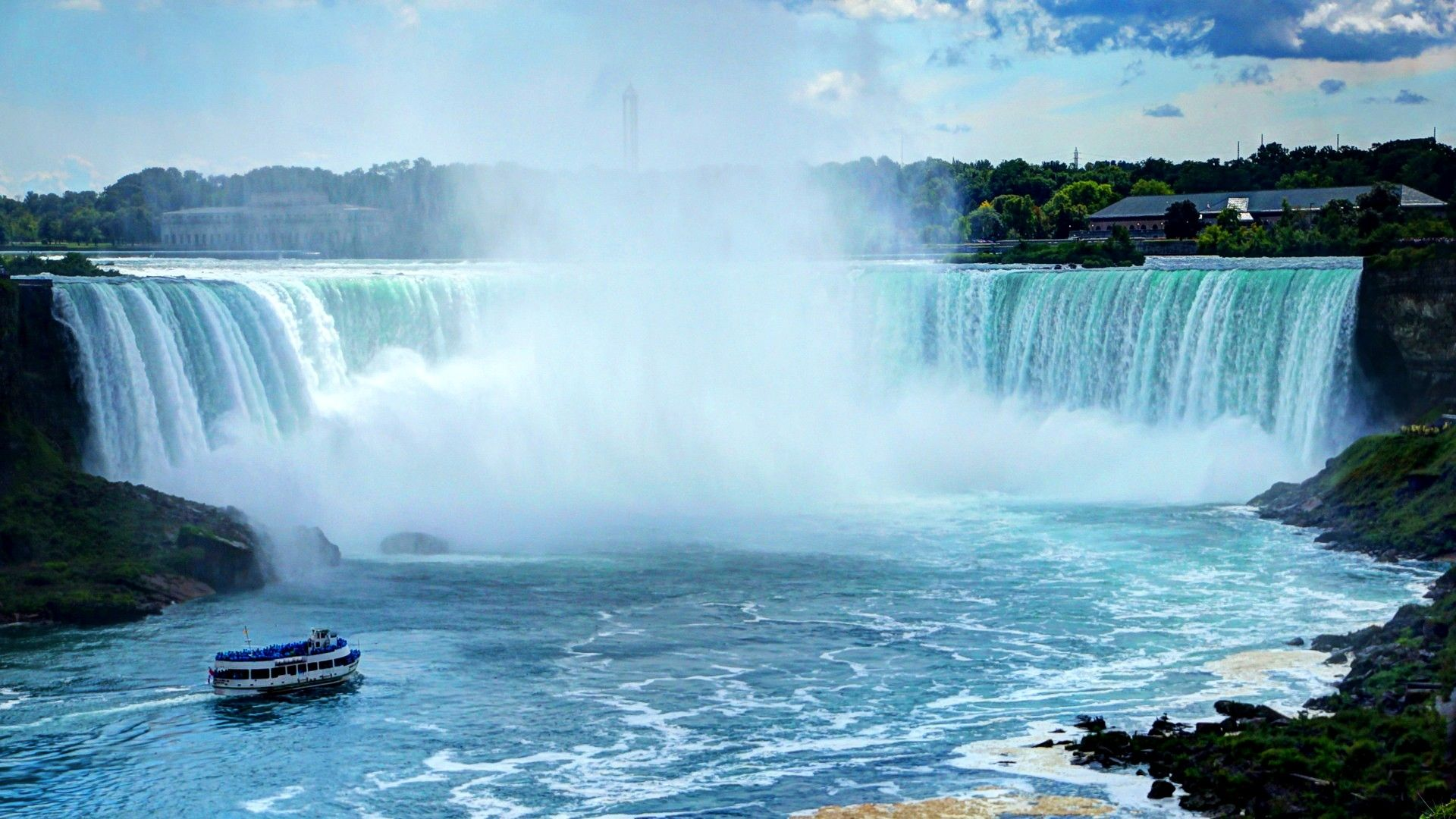 Images of Canadian Waterfall Wallpaper - #SC