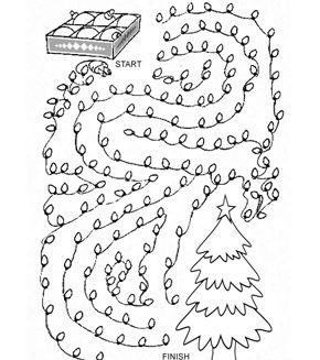 Christmas Tree Maze