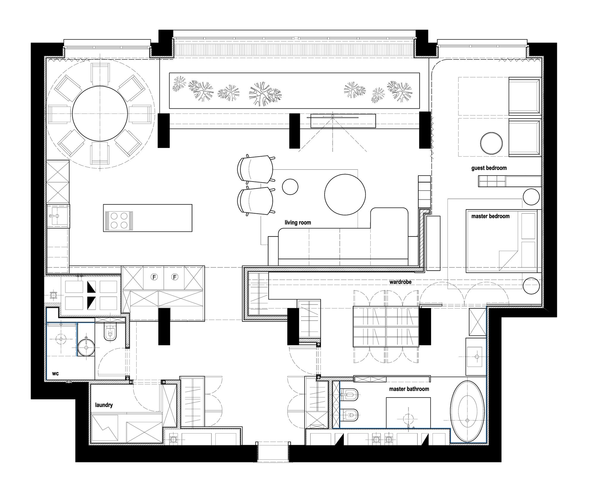 Pin By Rodrigo Zamora On Mb Can Ho O Interior Floor Plan Floor Plans Wood Interiors