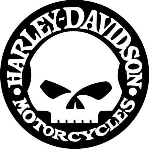 Harley Motorcycle Silhouette Google Search Wall Signs And - Harley davidsons motorcycles stickers