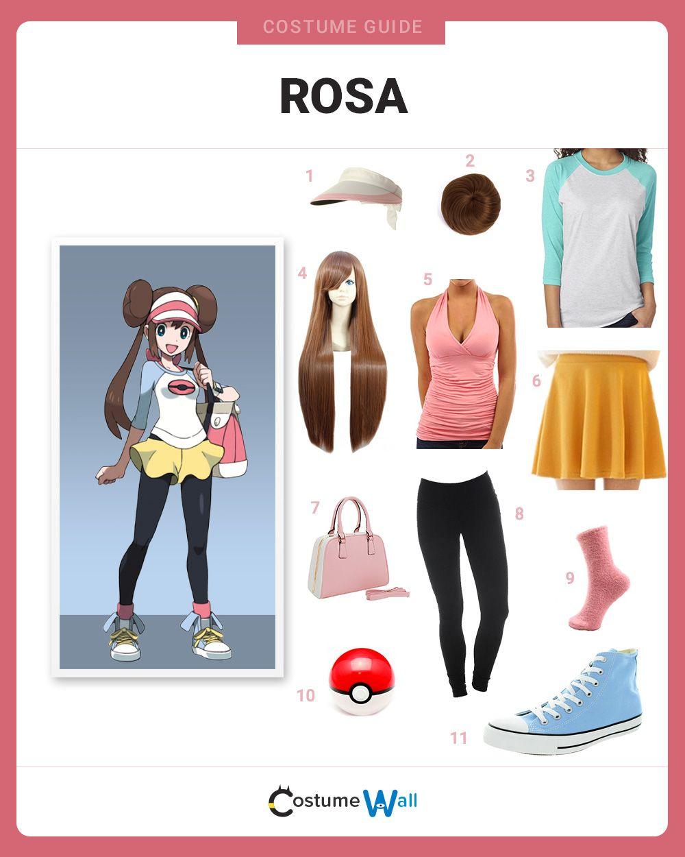 Dress Like Rosa  Pokemon costumes for girls, Cute group halloween