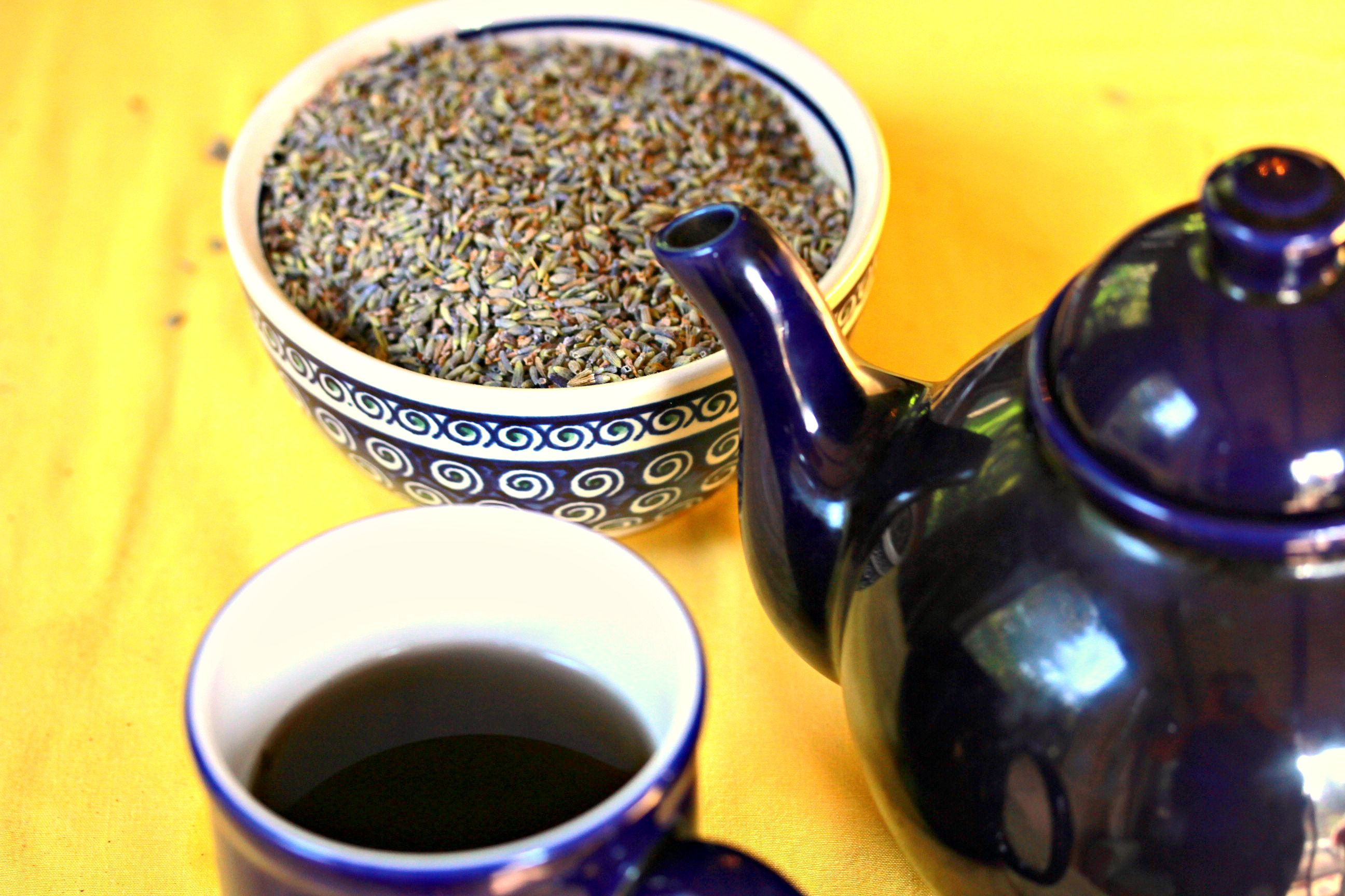 How to make Lavender Tea to reduce that stress!
