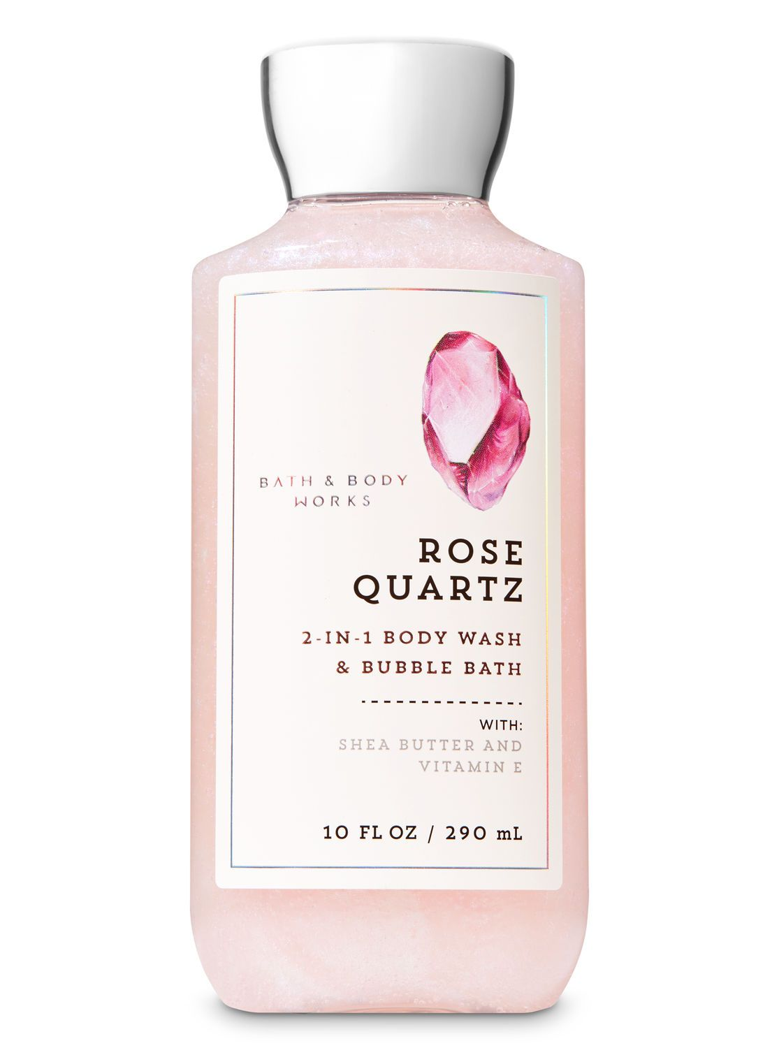 Signature Collection Rose Quartz 2 In 1 Body Wash Bubble Bath By