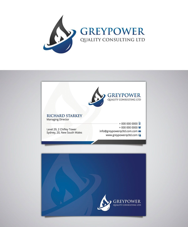 Pin By Karem Mazen On Graphics Professional Business Card Design Business Card Design Business Card Logo Design
