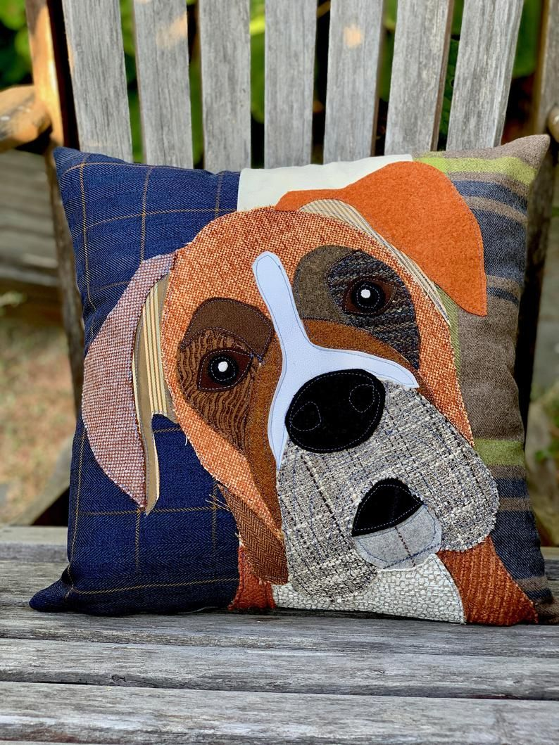 Boxer Dog Pillow, Pet Pillow, Dog Decor, Dog Lover Gift, Cushion Cover