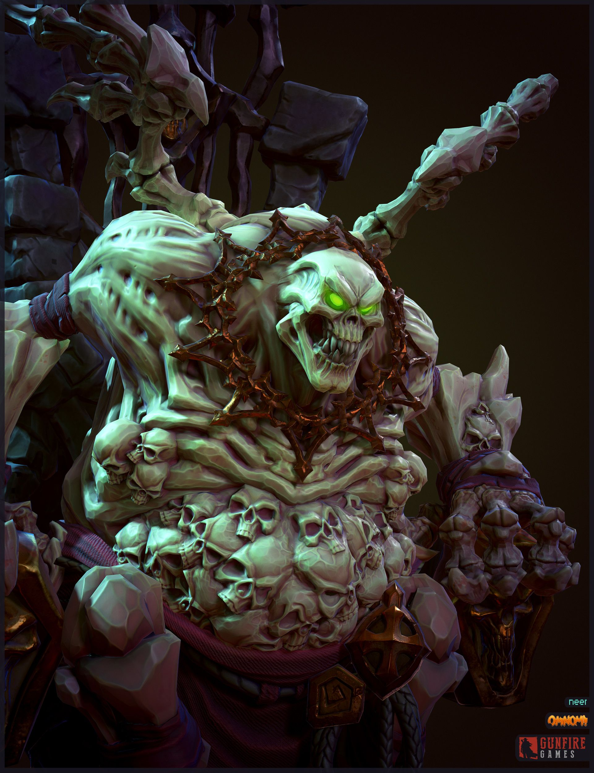 ArtStation - Corrupted Tomekeeper - Darksiders 3, Neer