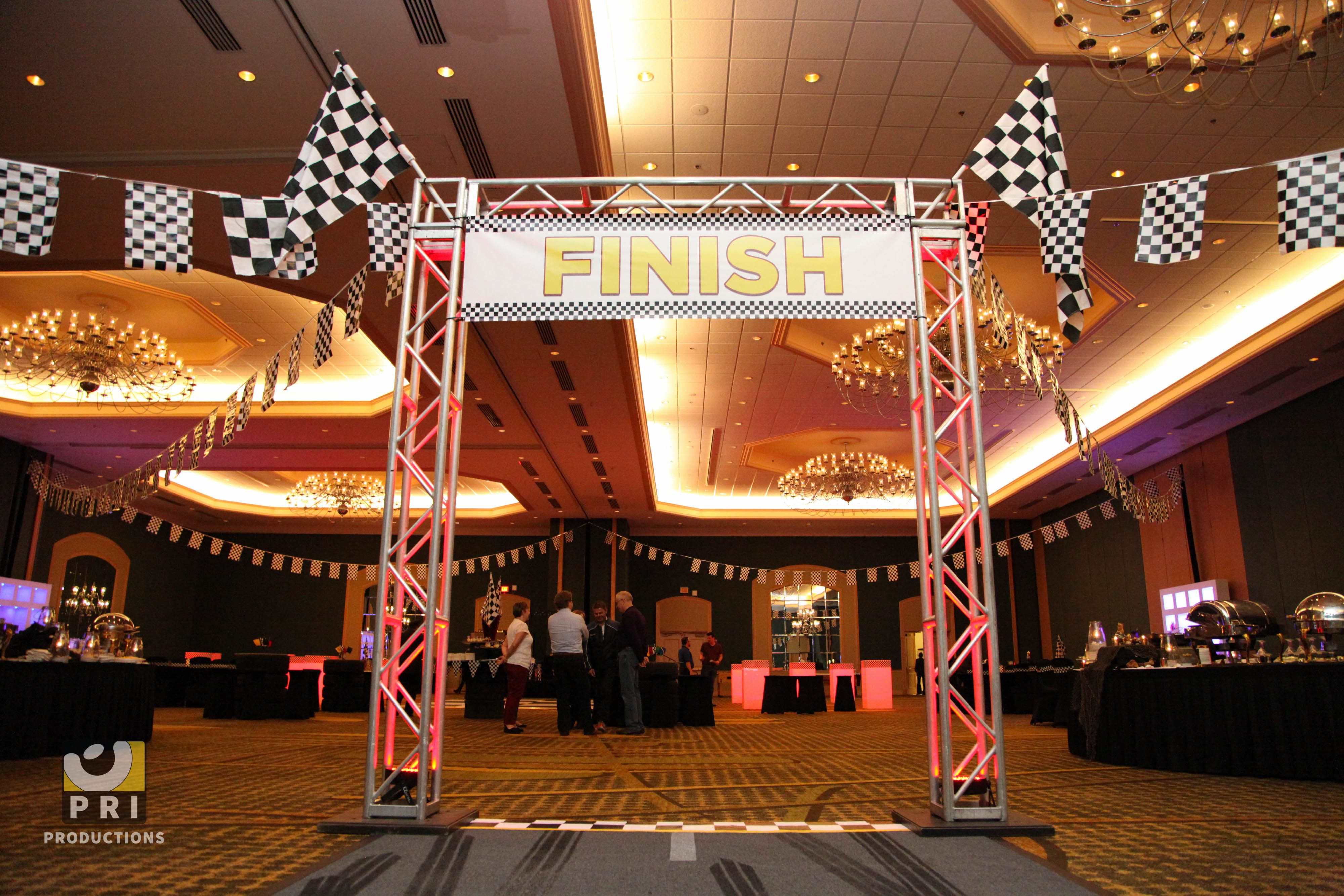 Race Car Themed Party Decorations