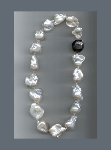 huge en barokkparlitest pearlstory kaelakee baroque pearls necklace