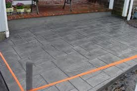 landscape concrete patio landscaping pinterest concrete