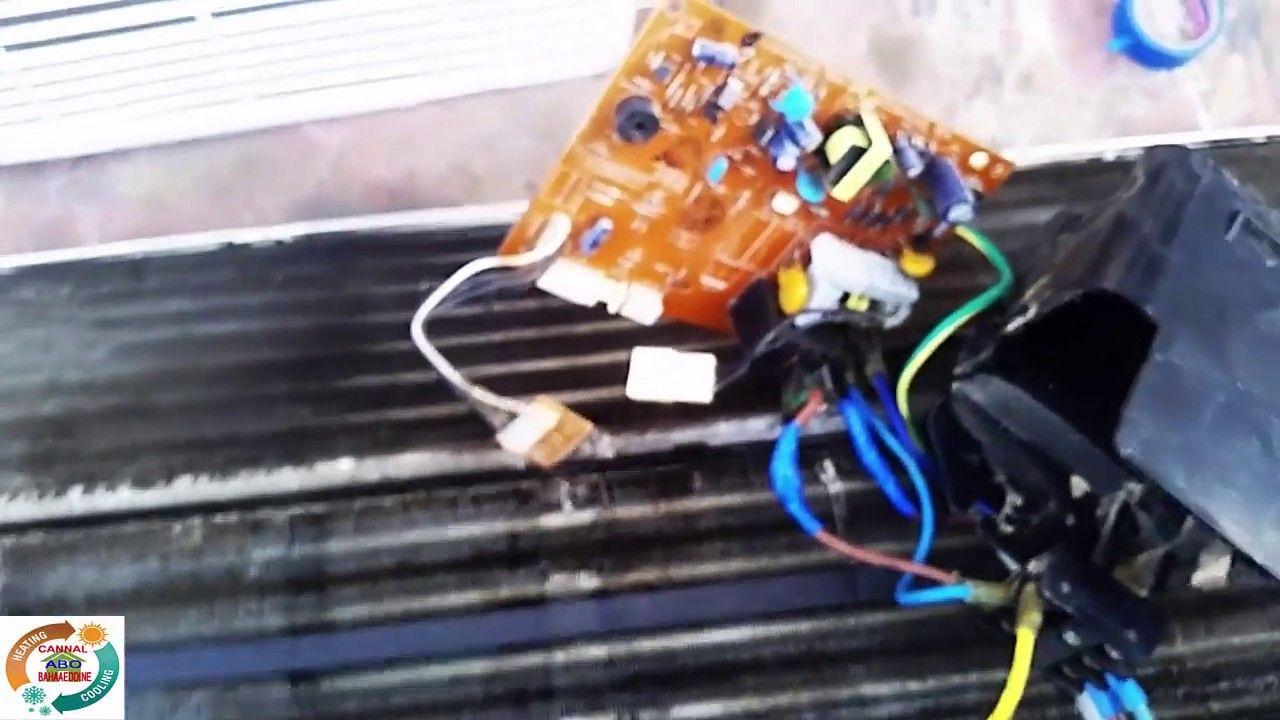 حل عطل تقطيع في سرعة مروحة سبلت الجيpobleme In Speed Fan Lg Air Condition