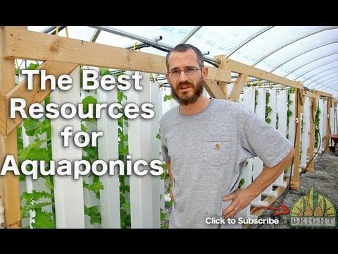 Best Resources for Beginning Aquaponics - YouTube