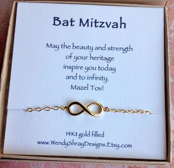 06a67d78e3369 Bat Mitzvah gift Sideways gold filled by WendyShrayDesigns, $36.00 ...