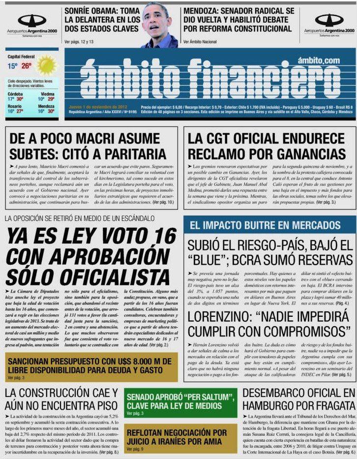 Diario Ámbito Financiero