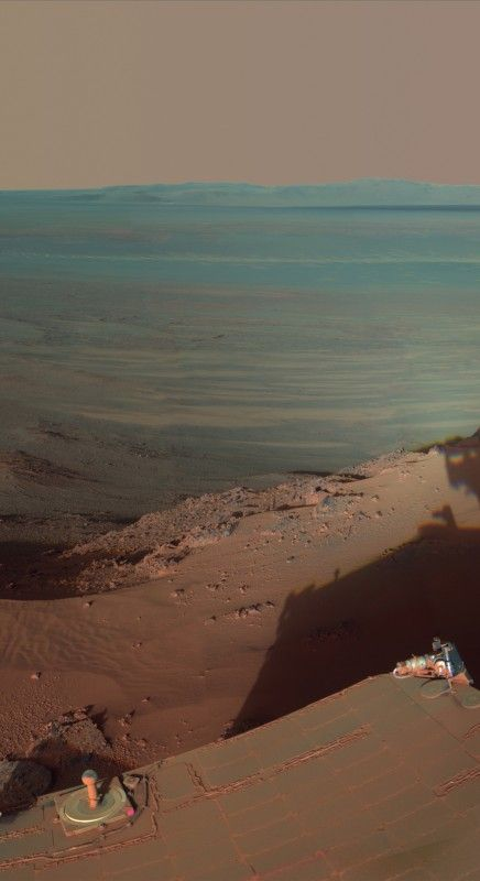 Mars. I'd like so much going there and walk. #Mars rover #Opportunity #Crater #Endeavour. http://www.mindblowingpicture.com/wallpaper/space/wp5z95yq.html