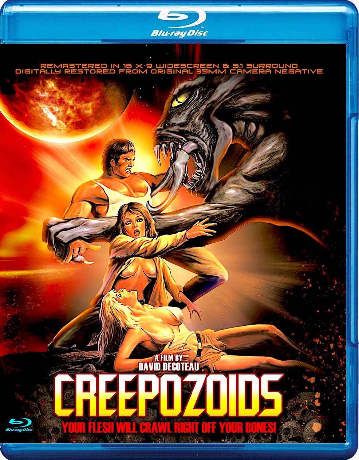 Creepozoids Blu Ray Full Moon Cheesy Movies Sci Fi Horror Blu Ray