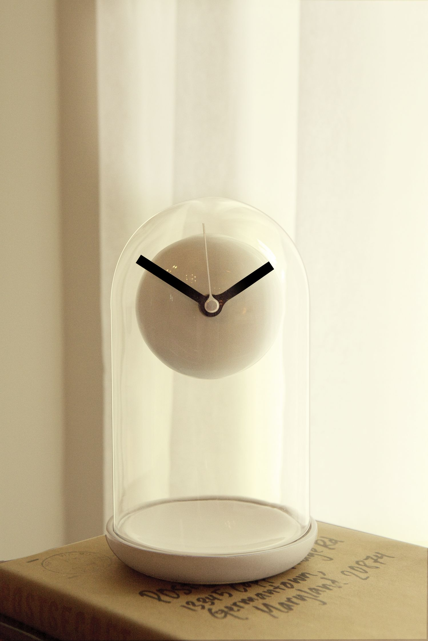 Cylinder Shape Clock Dome For Anniversary Clock or Display Dome For Other Items
