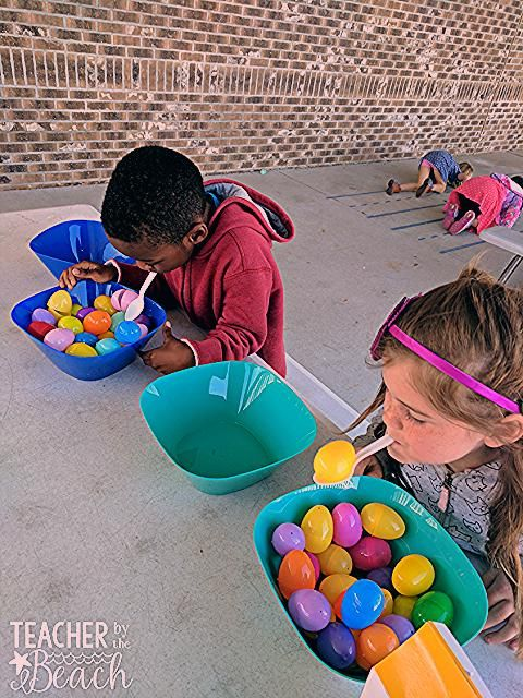 Photo of Spring Minute to Win It Games – Teacher by the Beach,  #Beach #Games #homeschoolingideasroom …
