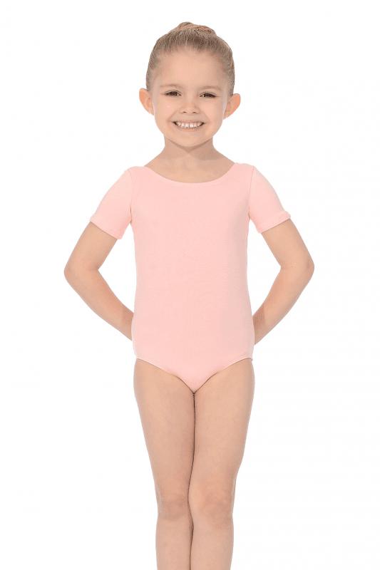 Roche Valley Short Sleeved Pink Ballet Leotard