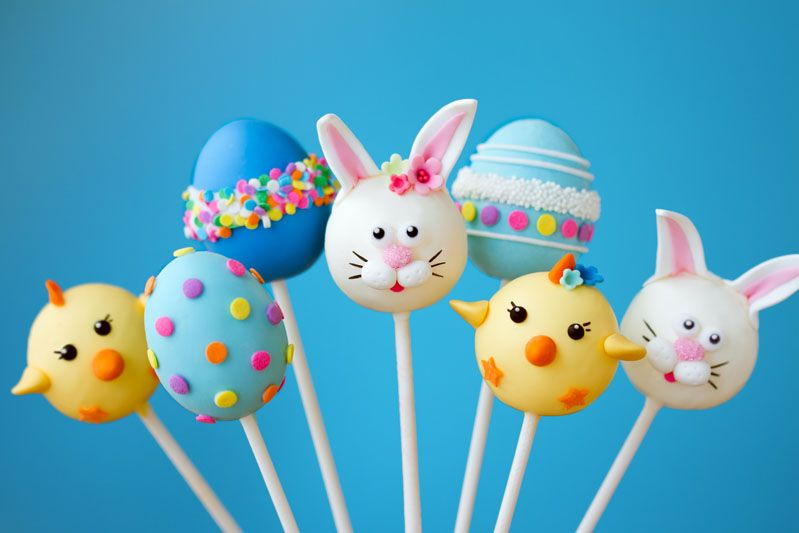 Easter cake pops jigsaw puzzle how many pieces 12 24 35 40