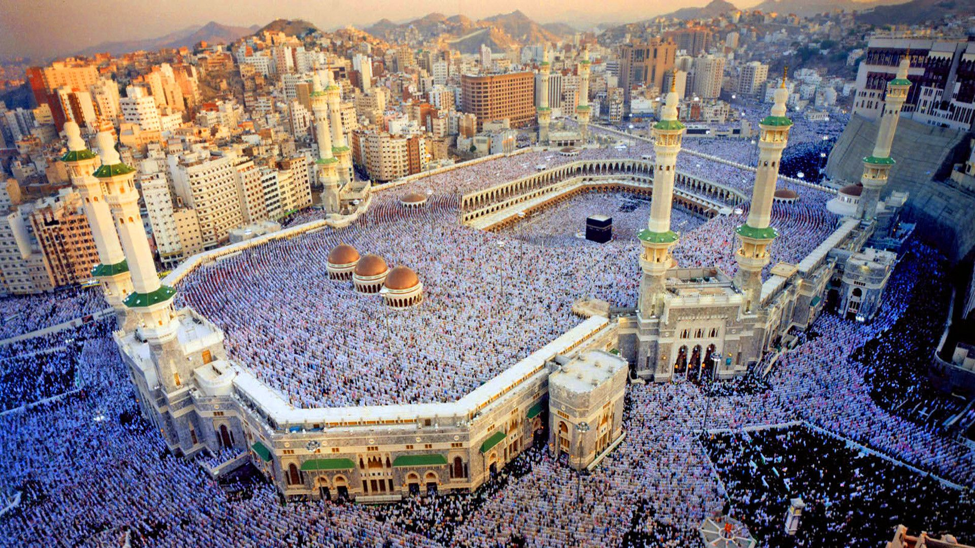 Res 1920x1080 A 1366x768 Mecca Kaaba Mecca Mecca Wallpaper