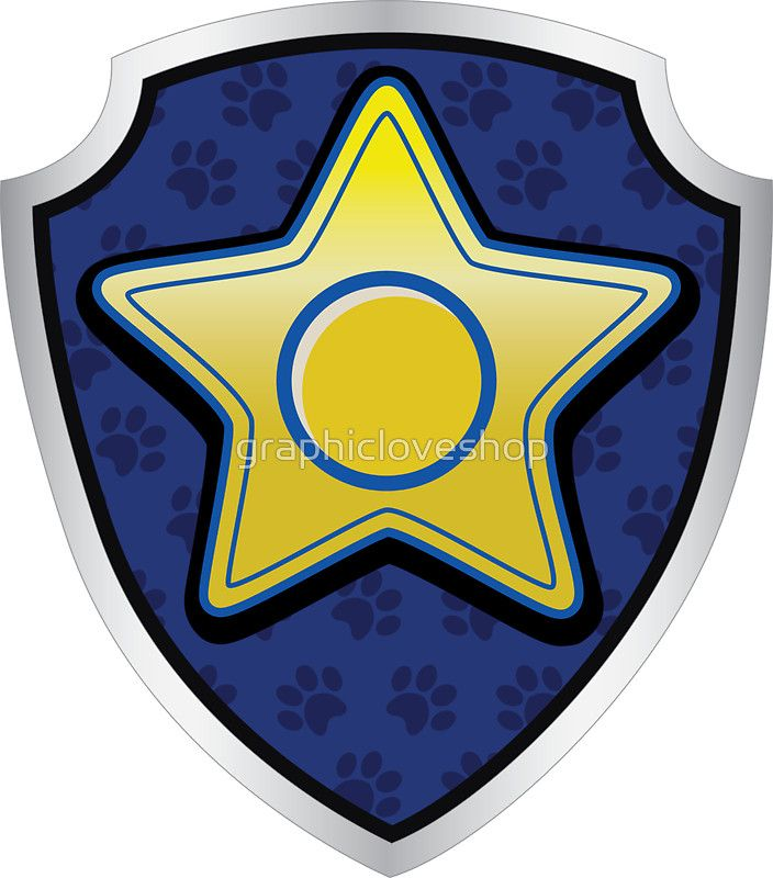 Chase Police Pup Tag Sticker In 2019 Birthday Ideas Paw Patrol Costume Paw Patrol Birthday Paw Patrol Party
