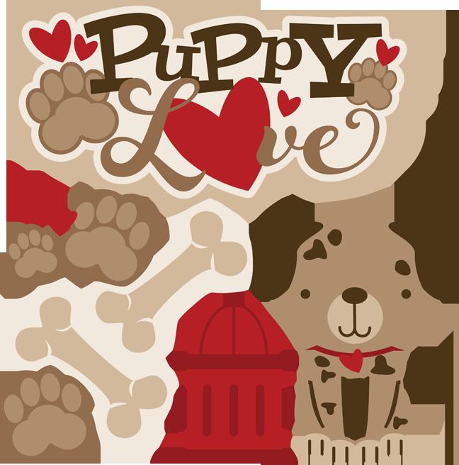Download Puppy Love - SVG Scrapbooking files   Clip Art (Animals ...