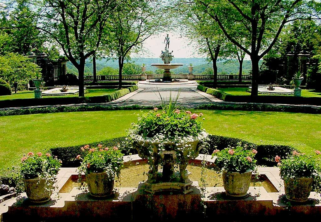 Formal Gardens in America | Kykuit, Hudson Valley group tours & group travel » Twin Travel ...