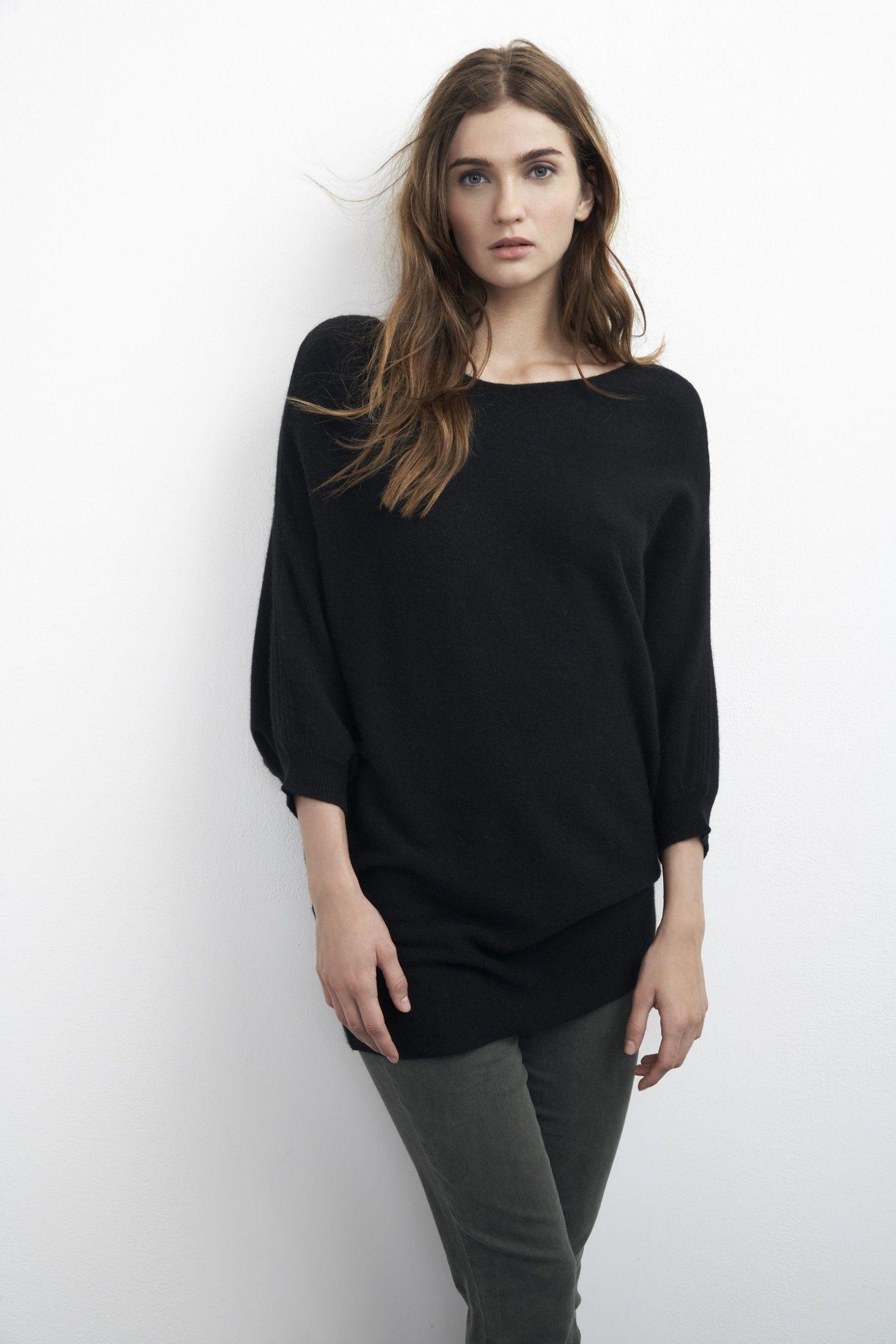 Cashmere Dolman Sweater ::Velvet by Graham & Spencer