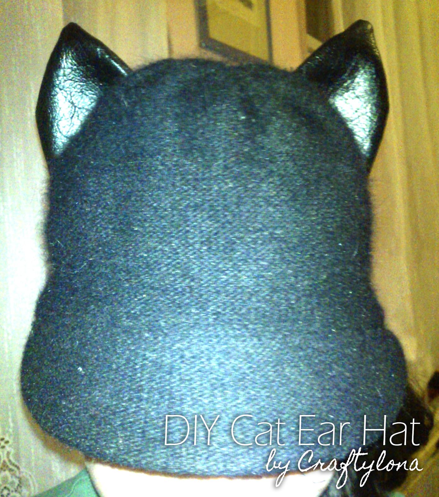 DIY Cat Ear Hat