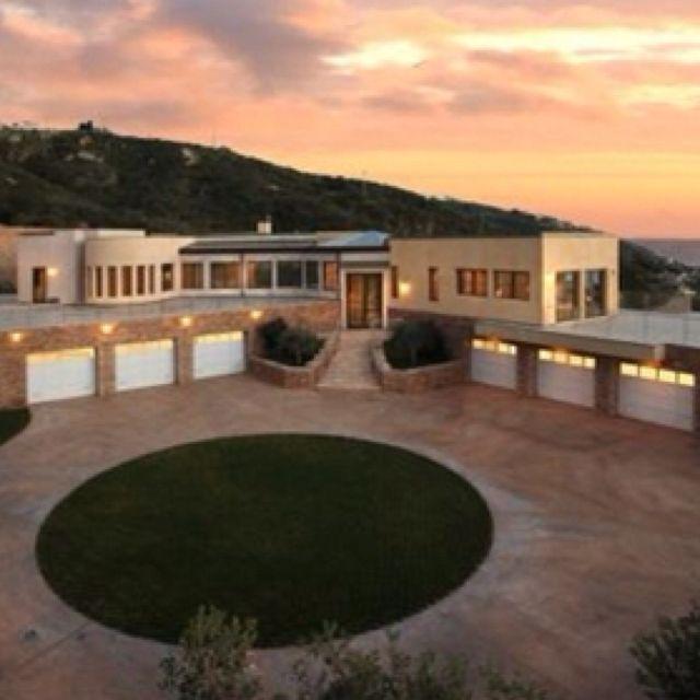 Mansions, House, Luxury Garage
