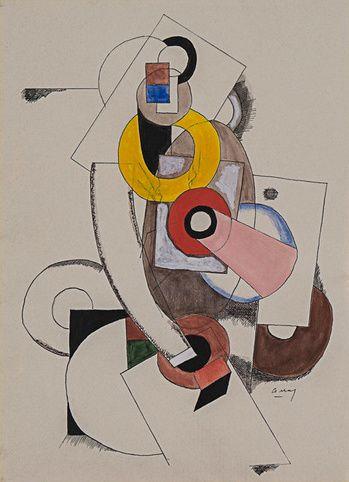 Composition Cubist