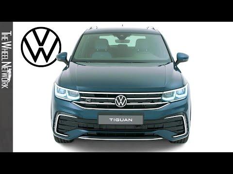 2021 Volkswagen Tiguan R   Nightshade Blue Metallic ...