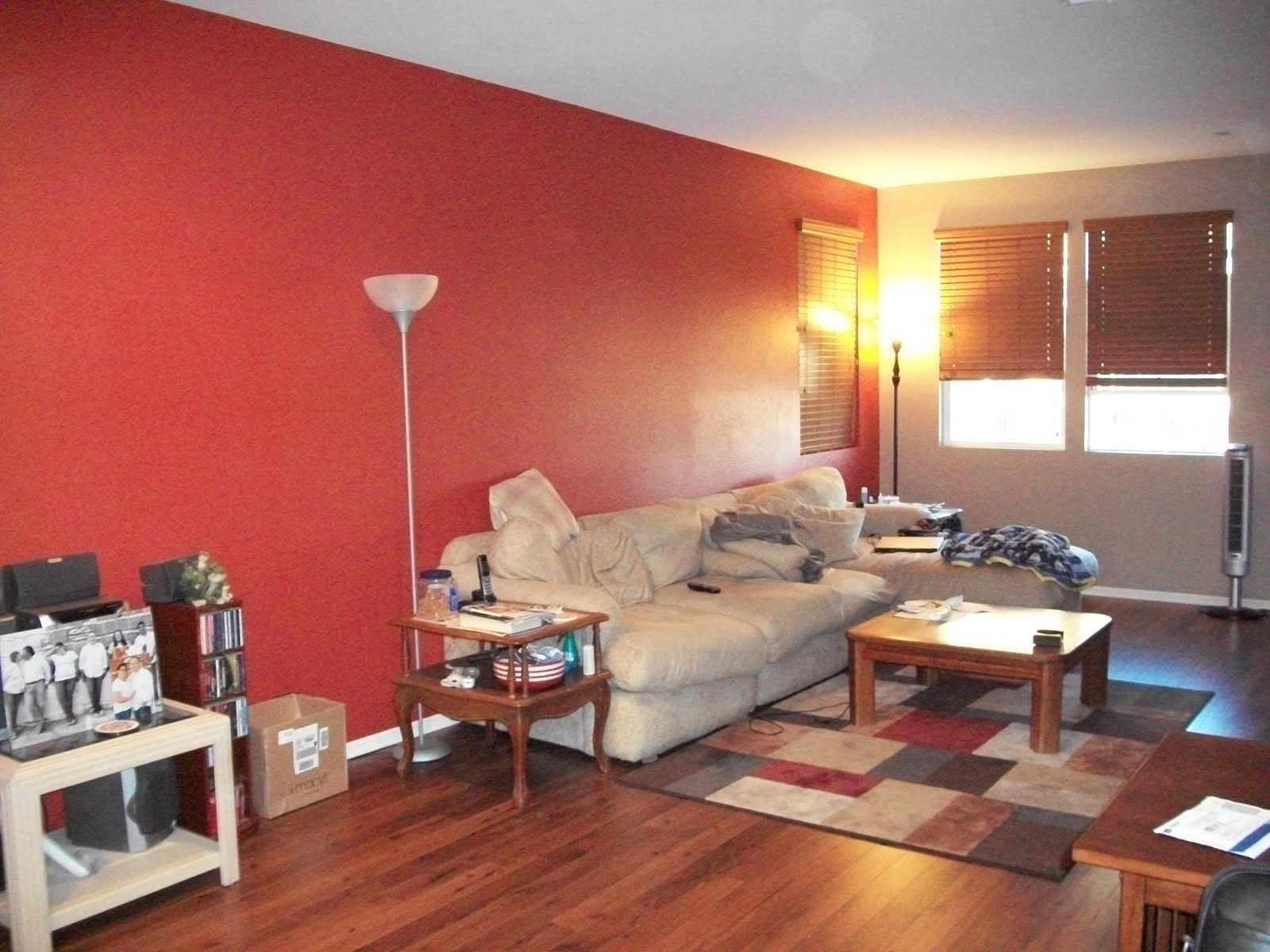 Jeffrey And Kristi Tague Our Life Together Accent Walls In Living Room Red Accent Wall Living Room Red