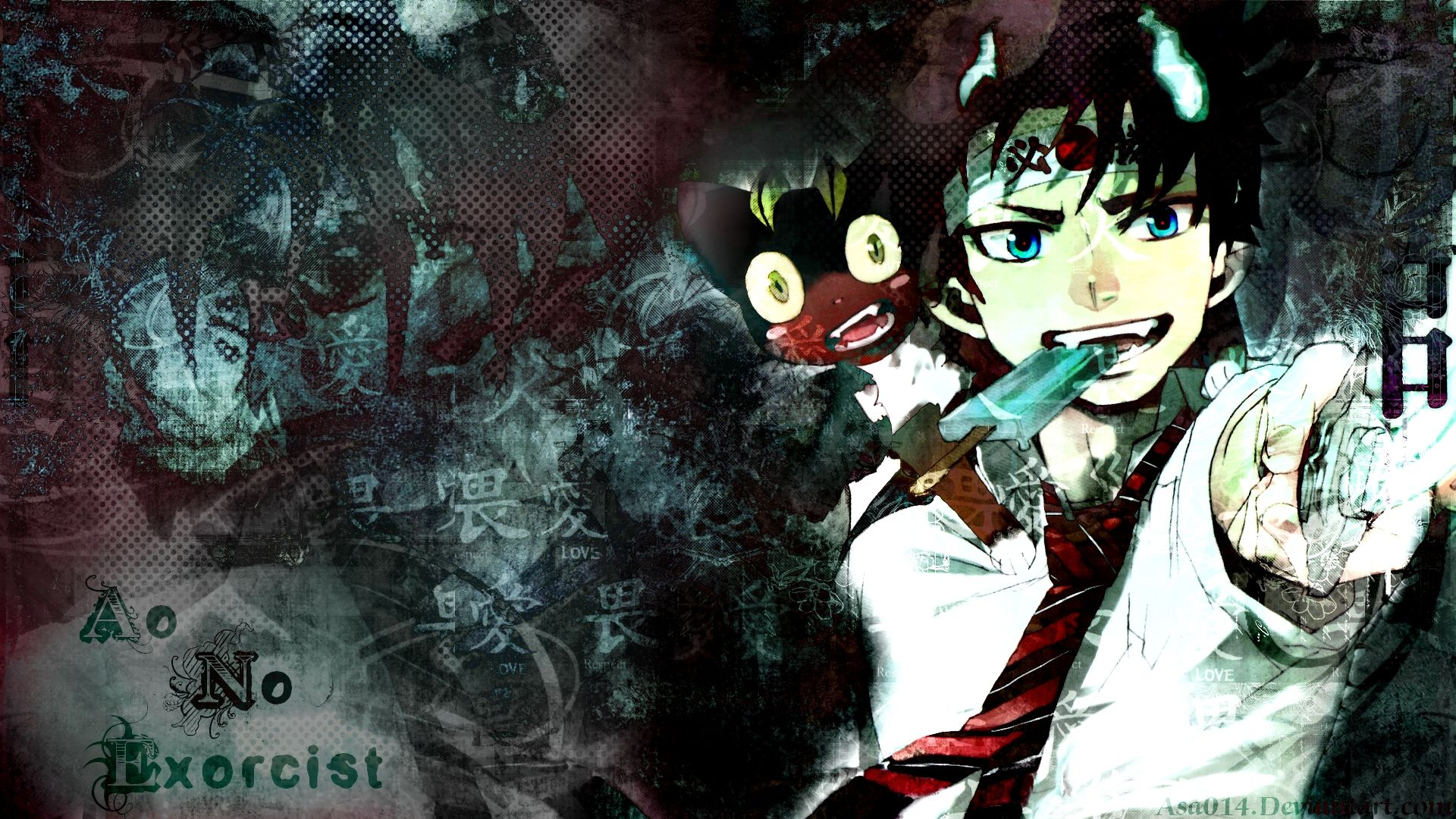 Anime Ao No Exorcist Wallpaper Blue Exorcist Pinterest Blue