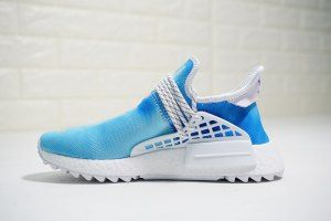 a4c503ab4357f Adidas NMD Shoes - SneakersClue.com. Mens Womens Pharrell x adidas NMD Hu  HOLI China Exclusive Blue White F99763 Boys Running Shoes