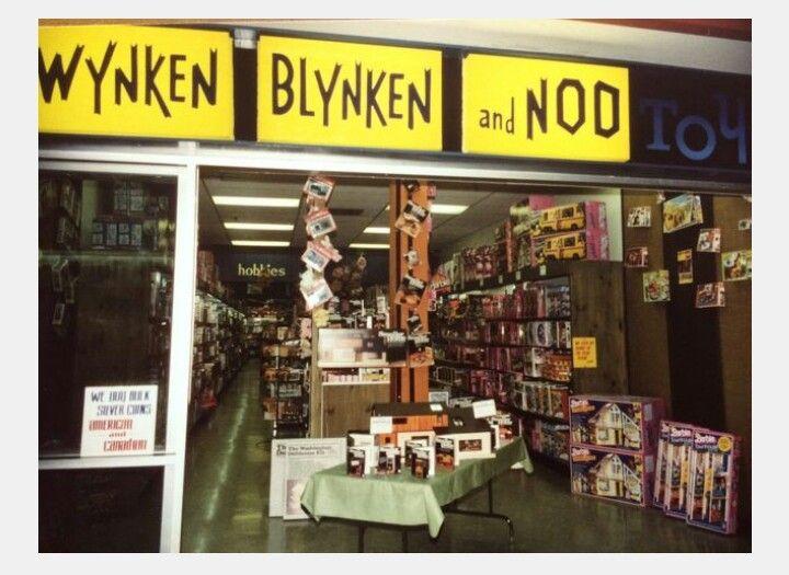Wynken Blyken And Nod Toys Northgate Plaza Rochester New York Childhood Memories My Childhood