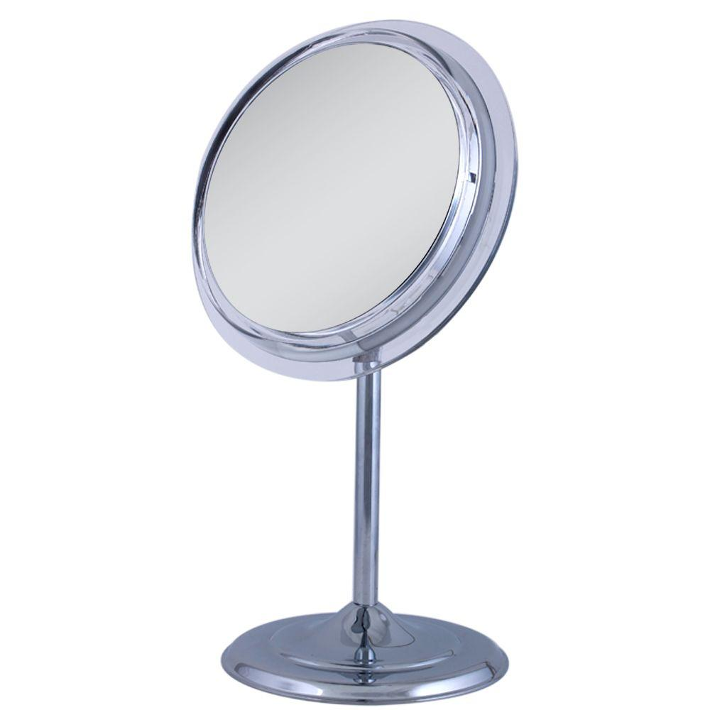 Zadro 95 in w x 16 in h surround light adjustable pedestal vanity zadro 95 in w x 16 in h surround light adjustable pedestal vanity mirror aloadofball Image collections
