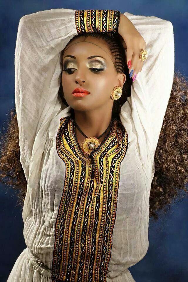 Tikuse Neger: Ethiopian Traditional Dress  |Ethiopian Fashion Clothes