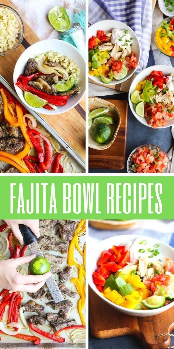 Fajita Bowl Recipes images