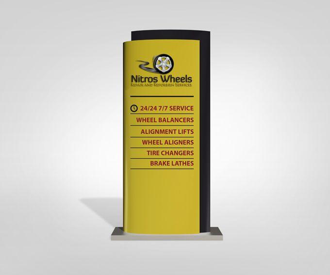 Bathroom Sign Mockup company-pylon-sign-mock-up-02 (680×567) | signage | pinterest